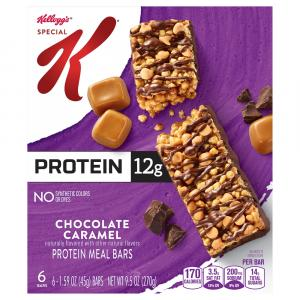 Kellogg's Special K Chocolate Caramel Protein Meal Bars