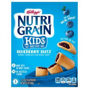 Kelloggs Nutri Grain Kids Blueberry Blitz