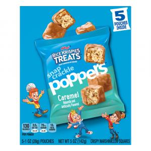 Kellogg's Rice Krispies Treats Caramel Poppers