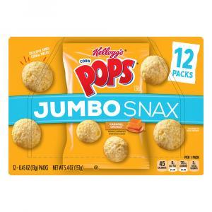 Kellogg's Jumbo Snax Corn Pops