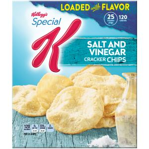 Kellogg's Special K Salt And Vinegar Cracker Chips
