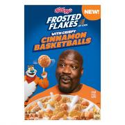 Kellogg's Frosted Flakes With Crispy Cinnamon Basketballs
