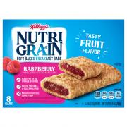 Kellogg's Nutri-Grain Raspberry Bars