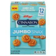 Kellogg's Jumbo Snax Cinnabon