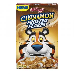 Kellogg's Frosted Flakes Cinnamon Cereal