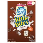 Kellogg's Frosted Mini Wheats Little Bites Chocolate Cereal