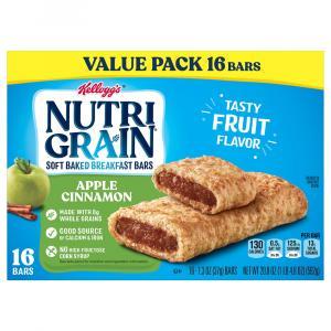 Kellogg's Nutri-Grain Soft Baked Apple Cinnamon Bars