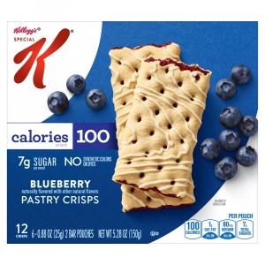 Special K Pastry Crisps Blueberry