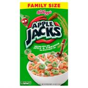 Kellogg Family Size Apple Jacks