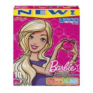 Kellogg's Barbie Fruit Flavored Snacks