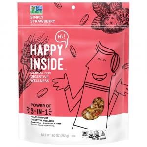 Kellogg's Happy Inside Simply Strawberry Cereal