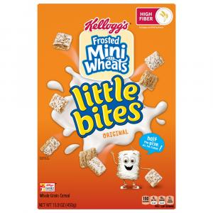 Kellogg's Frosted Mini Wheats Little Bites Original Cereal