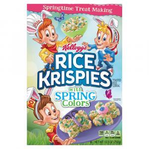 Kelloggs Rice Krispies Spring Colors