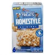 Kellogg's Rice Krispies Treats Homestyle Original Bars