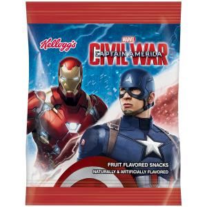 Kellogg's Avengers Fruit Flavored Snacks