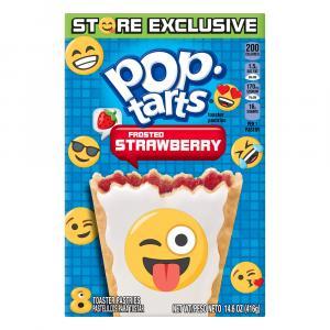 Kellogg's Frosted Strawberry Emoji Pop-tarts
