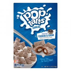 Kelloggs Pop-Tart Frosted Cookies & Creme Cereal