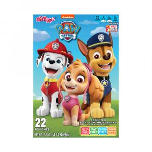 Kellogg's Paw Patrol Fruit Flavored Snacks