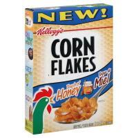 Kellogg's Honey Corn Flakes Cereal