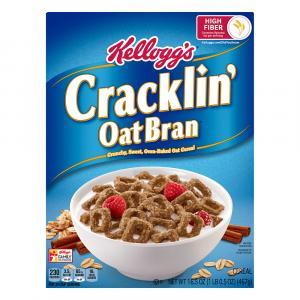 Kellogg's Cracklin' Oat Bran Cereal