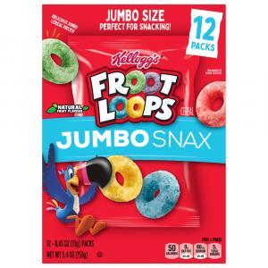 Kellogg's Jumbo Snax Froot Loops