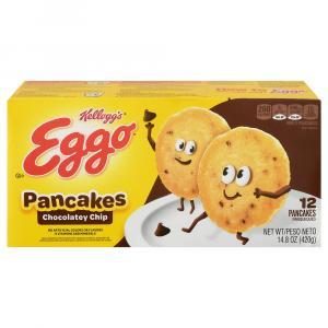 Eggo Chocolate Chip Pancakes