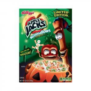 Kellogg's Apple Jacks Spooky Marshmallows Cereal