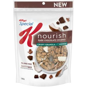 Special K Nourish Dark Chocolate Coconut Granola