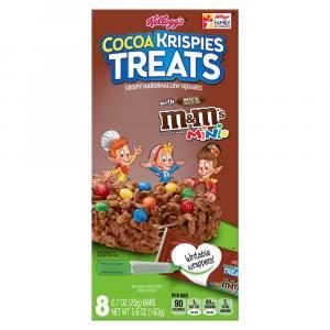 Kellogg's Cocoa Krispies Treats With M&M's Minis