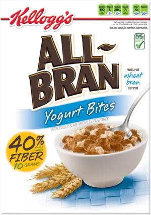 Kellogg's All Bran Yogurt Bites