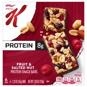 Kellogg's Special K Protein Trail Bar Fruit and Salted Nuts