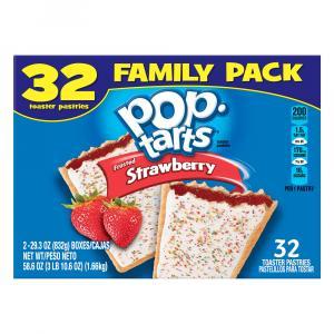 Kellogg's Pop-tarts Strawberry Family Pack
