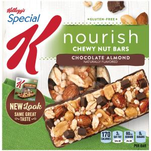 Kellogg's Special K Chewy Nut Bars Chocolate Almond
