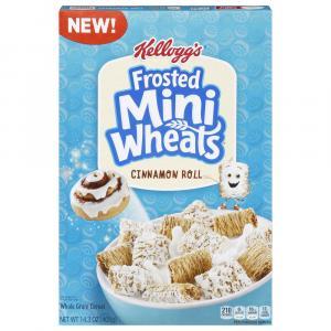Kellogg's Frosted Mini Wheats Cinnamon Roll