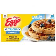 Eggo Blueberry NutriGrain Waffles