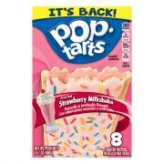 Kellogg's Pop-Tarts Strawberry Milkshake