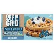 Off The Grid Wild Blueberry Waffles