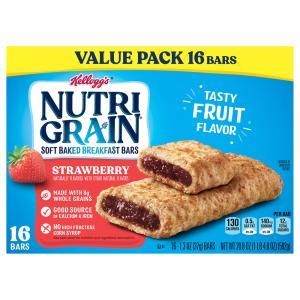 Kellogg's Nutri-Grain Soft Baked Strawberry Bars