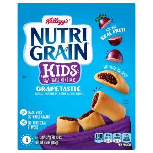Kellogg's Nutri-Grain Kids Grapetastic Mini Breakfast Bars