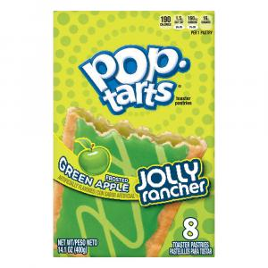 Kellogg's Jolly Rancher Frosted Sour Green Apple Pastries