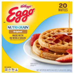 Eggo Nutri-Grain Whole Wheat Waffles Family Pack