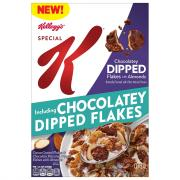 Kellogg's Special K Chocolatey Dipped Flakes With Almonds