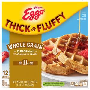 Eggo Thick & Fluffy Whole Grain Original Waffles