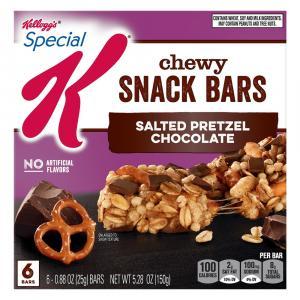 Kellogg's Special K Salted Pretzel Chocolate Bars