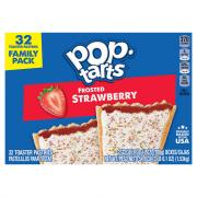 Kellogg's Pop-Tarts Frosted Strawberry Family Pack