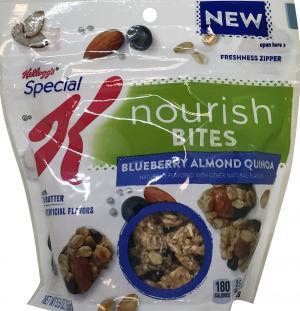 Kellogg's Special K Nourish Bites Blueberry Almond Quinoa