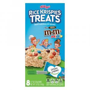Kellogg's Rice Krispies Treats with M&M's Minis