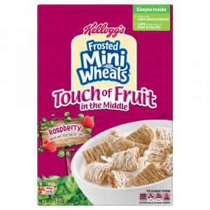 Kellogg's Frosted Mini Wheats Touch of Fruit in the Middle