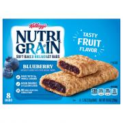 Kellogg's Nutri-Grain Blueberry Bars