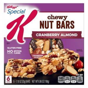 Kellogg's Special K Nourish Bars Cranberry Almond Bars